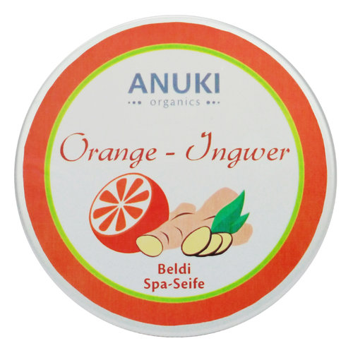 Beldi Seife Orange-Ingwer